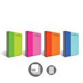 Faber-Castell Pp Kapak Bicolor Spiralli 60 Yaprak Çizgili