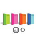 Faber-Castell Pp Kapak Bicolor Spiralli 80 Yaprak Düz