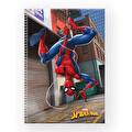 Spiderman Çizgili Defter