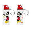 0,5 Lt Askılı Lisanslı Matara-Gözlüklü Mickey Mouse