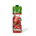 Carrefour %100 Elma-Vişne Suyu 1 lt