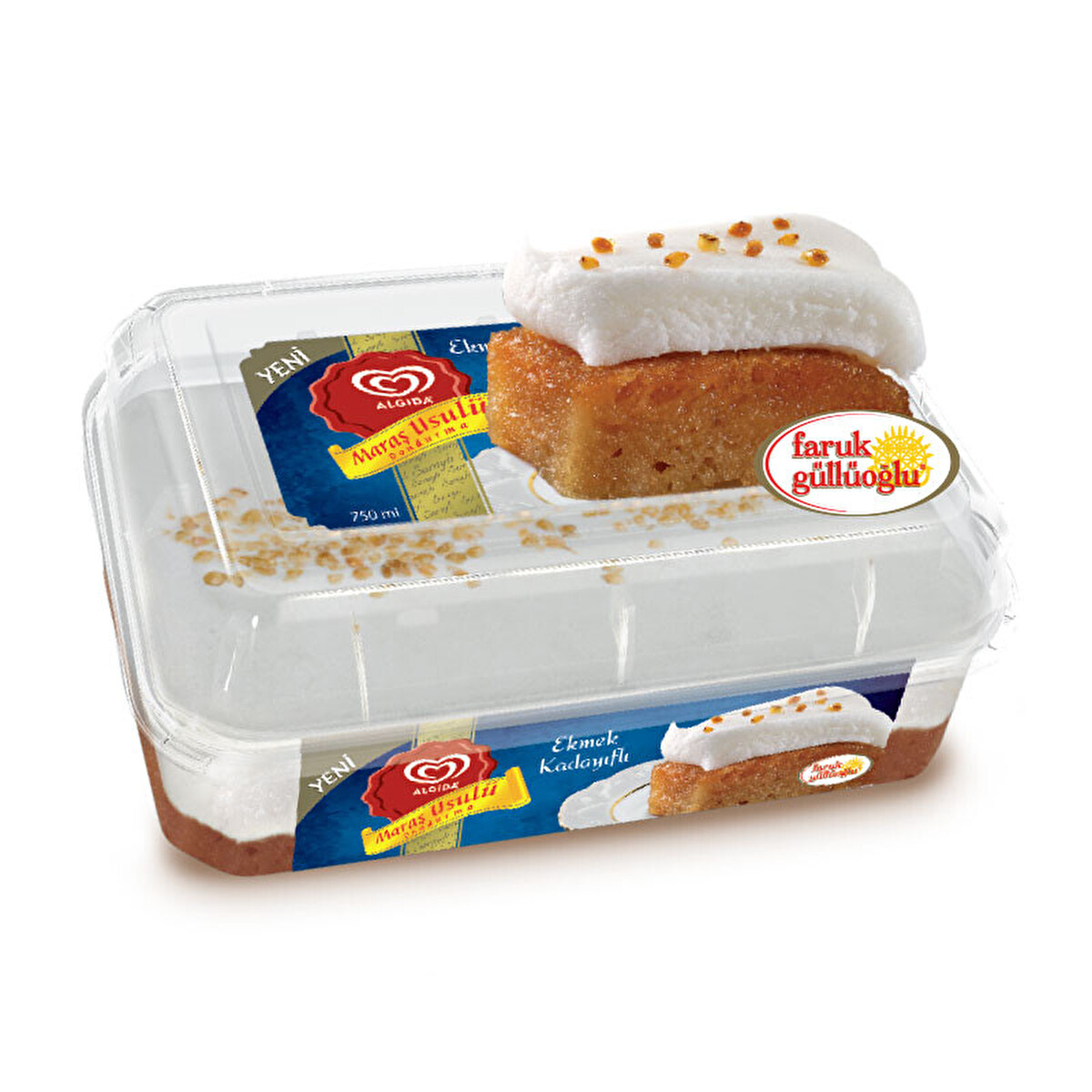 Algida Maraş Ekmek Kadayıf 750 Ml 30141514 Carrefoursa