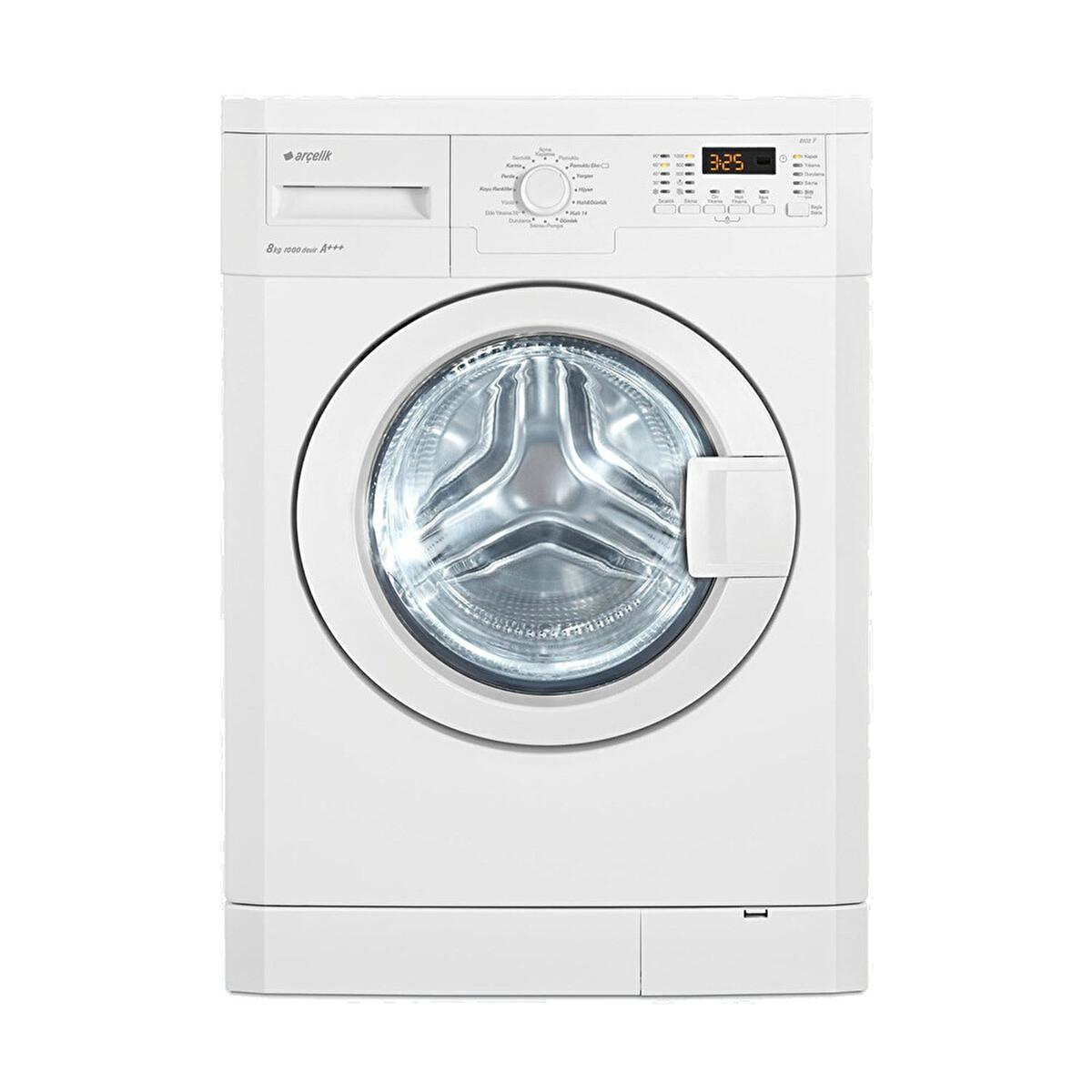 Arçelik 8103 Y 8kg çamaşır Makinesi 30193193 Carrefoursa