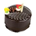 Özel Çikolatalı Fıstıklı 4-6 Kişilik Pasta