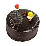 Özel Çikolatalı Fıstıklı Pasta 6-8 Kişilik