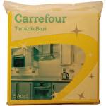 Carrefour Sarı Temizlik Bezi 5'li