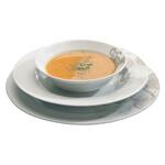 Güral Porselen Kelebek Desenli Yemek Takımı 24 Parça