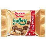 Ülker Halley Mini Granüllü Bisküvi 3 x 66 g
