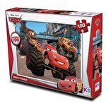 Cars 2 Puzzle 100 Parça