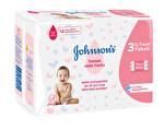 Johnson's Baby Islak Havlu 3'lü