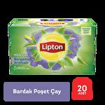 Lipton Yeşil Çay Bergamot Aromalı Bardak Poşet 20'li