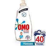 Omo Sıvı Tam Konsantre Çamaşır Deterjanı Ultra Sensitive 40 Yıkama 1400 ml