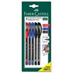 Faber Castell 5'li Tükenmez Kalem