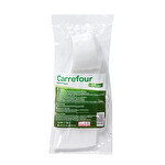 Carrefour Discount Plastik Kaşık Beyaz 25'li