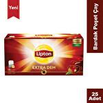 Lipton Extra Dem 25'li Bardak Poşet Çay 50G