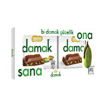 Nestle Damak Tablet Kare Çikolata 2x65 g