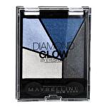 Maybelline New York 4'lü Far Paleti Diamond Glow Quad 03 Blue Drama