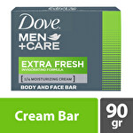 Dove Men Cream Bar Extra Fresh 90 g