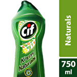 Cif Natural Krem Temizleyici 750 ml