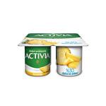 Activia Doğal Probiyotikli Ananaslı Yoğurt 4*100G