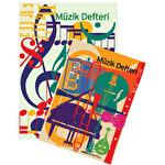 Uc Müzik Defteri A4 40 Yapraklı