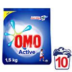 Omomatik Toz Çamaşır Deterjanı Active 10 Yıkama 1.5 kg