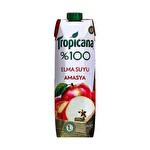 Tropicana Amasya %100 Elma Suyu Tetra 1 Lt