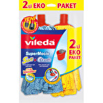 Vileda SuperMocio Soft + Klasik 2'li Yedek