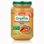 Milupa Organik Kavanoz Maması  Mandalina Üzüm Elma 200 g