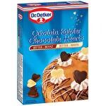 Dr. Oetker Bitter ve Beyaz Çikolatalı Kalpler 45 g
