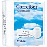 Carrefour Çift Katlı Tuvalet Kağıdı 32'li