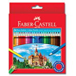 Faber Castell 24'lü Redline Kuru Boya