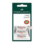 Faber Castell 3'lü Beyaz Silgi