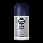 Nivea Sılver Protect Roll-On Deodorant 50 ml Erkek