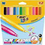 Bic 12'li Yıkanabilir Jumbo Keçeli Kalem