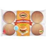 Uno Hamburger 6'li Yatay 52 g * 6