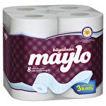 Maylo 3 Katlı Tuvalet Kağıdı 8'li