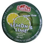 Takita Limon Aromalı Şeker 12 g