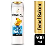 Pantene Şampuan Temel Bakım 500 ml