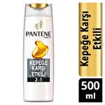 Pantene 2'si 1 Arada Şampuan ve Saç Bakım Kremi Kepeğe Karşı Etkili 500 ml