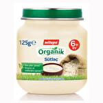 Milupa Organik Kavanoz Maması Sütlaç 125 g
