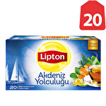 Lipton Bitki Çayı Akdeniz Yolculuğu - 20'li Poşet Çay 40 g