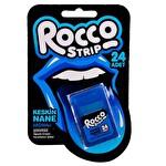 Rocco Strip Keskin Nane Aromalı Şekersiz Ağızda Eriyen Ferahlatıcı Şeker 24 Adet