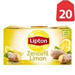 Lipton Zencefil-Limon Çayı Bardak Poşet 20'li