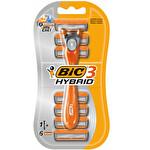 BIC 3 Hybrid 1 Adet Tıraş Makinesi 6 Adet Bıçak