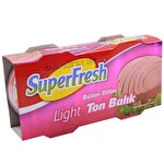 Superfresh Light Ton 2*160 g
