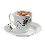 Tuğralı Kahve Fincanı Takımı 6'lı