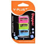 Y-Plus Kalemtıraş Dapper 3'lü