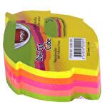 Noki Memo Yaprak Şekilli 5 Renk