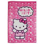 Hello Kitty Çizgili Defter A4 60 Yaprak